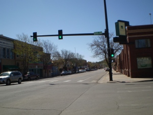 Walsenburg, Colorado on a Saturday morning.