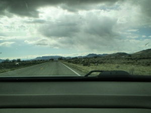 On the road to San Acacio.