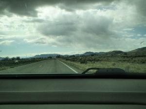 On the road to San Acacio.