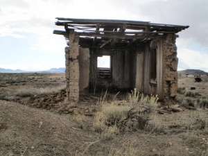 Ruins of an old adobe ghost.