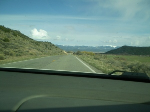 The road back to San Luis