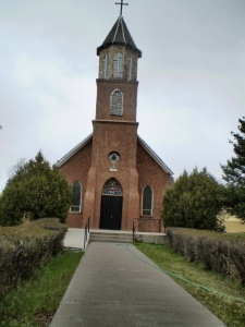Sangre de Cristo Parish, built in 1885