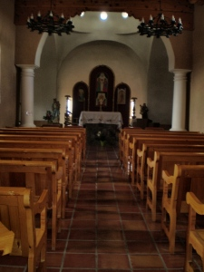 Interior of the Chapel