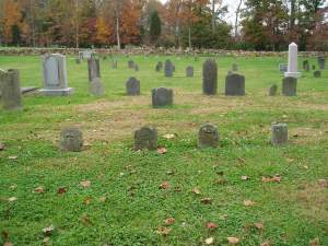 4 Supposed Pirate graves in the Thyatira Presbyterian Church Cemetery near Salisbury, Rowan County, North Carolina. Owner/Source: Katherine Benbow, The Benbow Family Website
