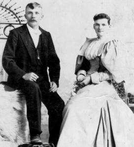 John William Spence (1864-1935) and Myrta Alzina Moss (1877-1953)