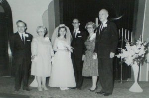 Our parents: Gordon Loren Inman and Elva Gail Spence Inman; Edward L. Beall, Sr. and Mildred Lee Warfield Beall