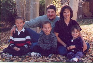 Debbie and Dee, Joshua, Jason and Mandy. Taken about 2003.