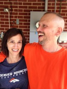 "Brian has been battling cancer this past year. Debbie has been the ""Chief Supporting Officer."""