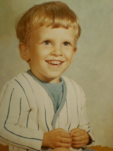 Brian, age 3, Cedar Rapids, Iowa.