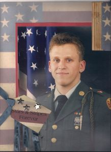 Brian's Army photo. I'm not sure whether this was taken at Fort Sill or in Germany
