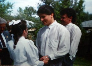 Debbie Beall and Dee Wall wedding, August 22, 1992