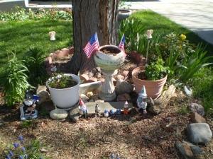 Brian's Memorial Garden. April 19, 2016