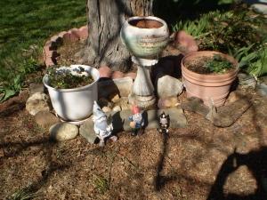 Brian's Memorial Garden, April 2016