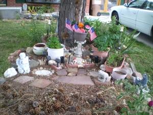 Brian's Memorial Garden, June 25, 2016