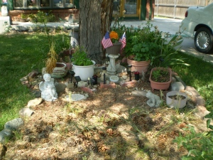 Scene from Brian's Garden.